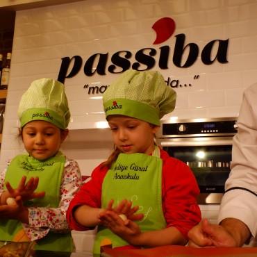Anaokulu Öğrencileri Passiba Mutfak'ta
