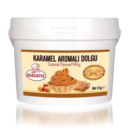 OVALETTE KARAMEL AROMALI DOLGU 6kg