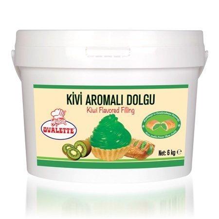 OVALETTE KİVİ AROMALI DOLGU 6kg