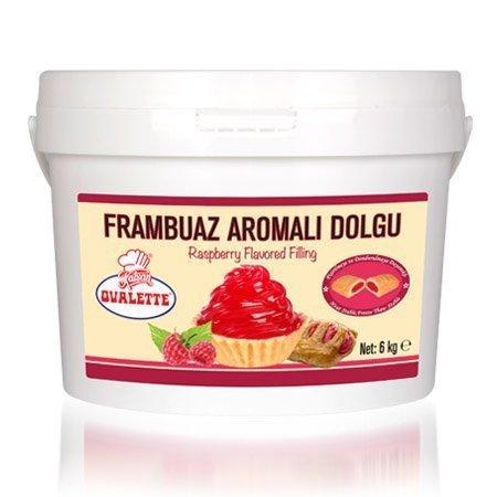 OVALETTE FRAMBUAZ AROMALI DOLGU 6kg