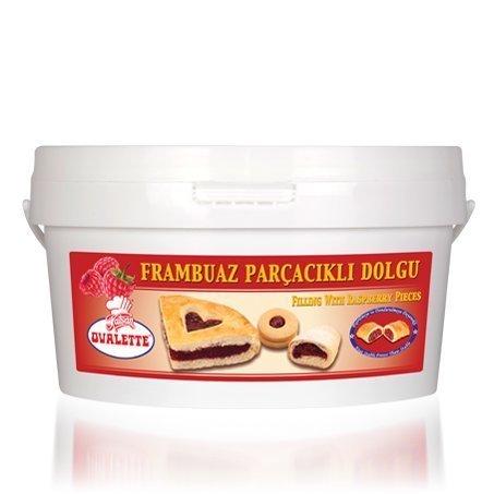 OVALETTE FRAMBUAZ PARÇACIKLI DOLGU 4kg