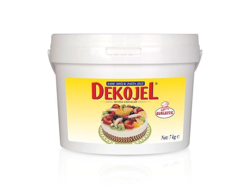 DEKOJEL SADE SOĞUK PASTA JELİ 7kg
