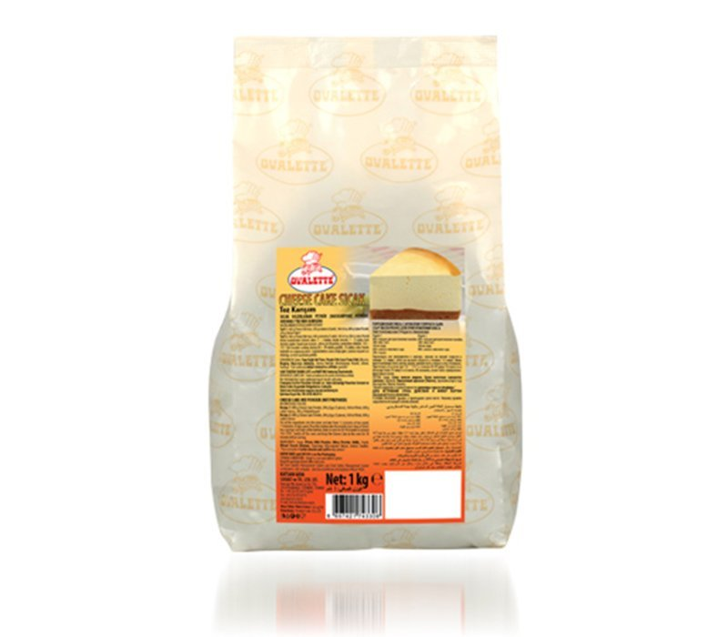 OVALETTE CHEESE KEK TOZU - SICAK 1kg