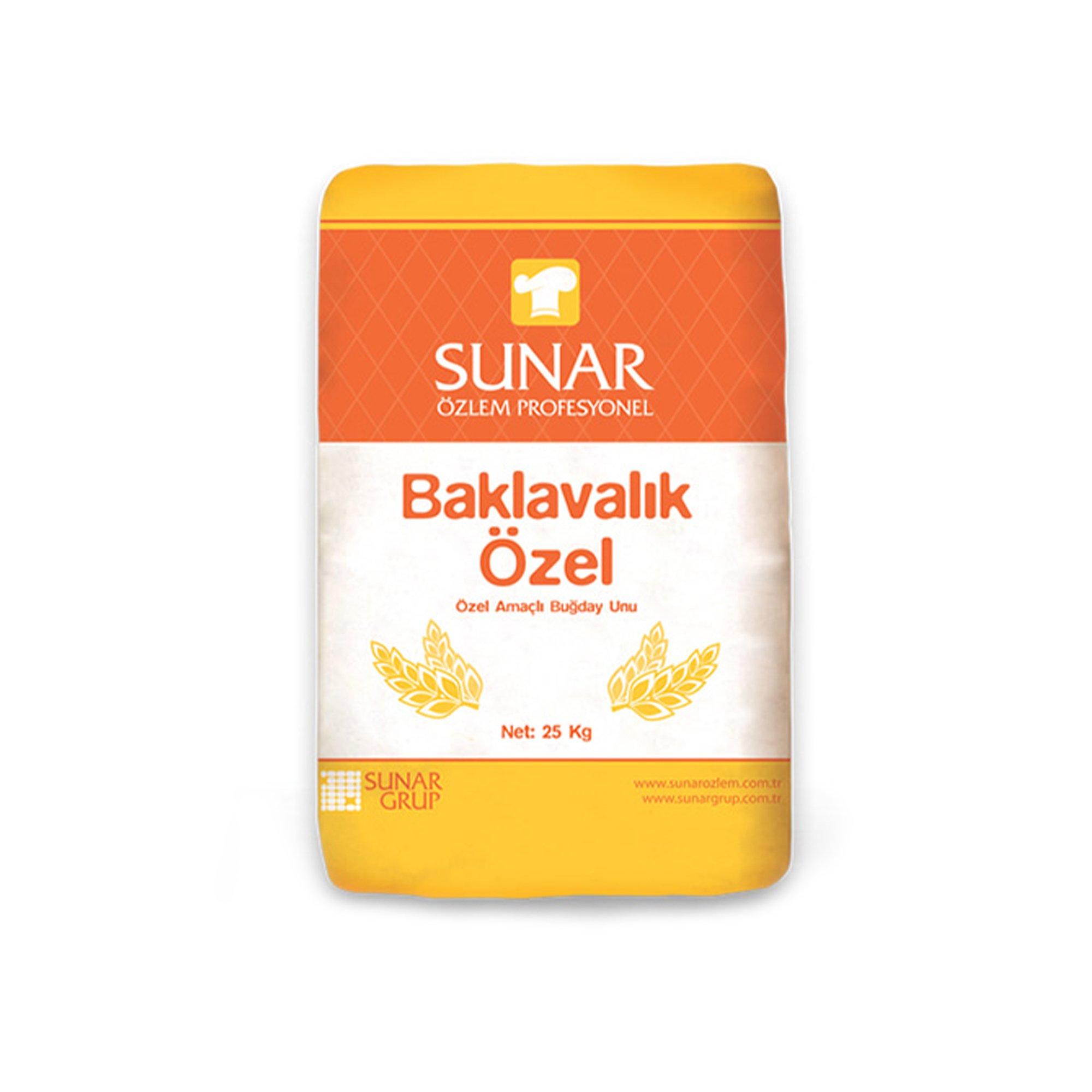 SUNAR NISASTA (ozel baklavalik) 25KG