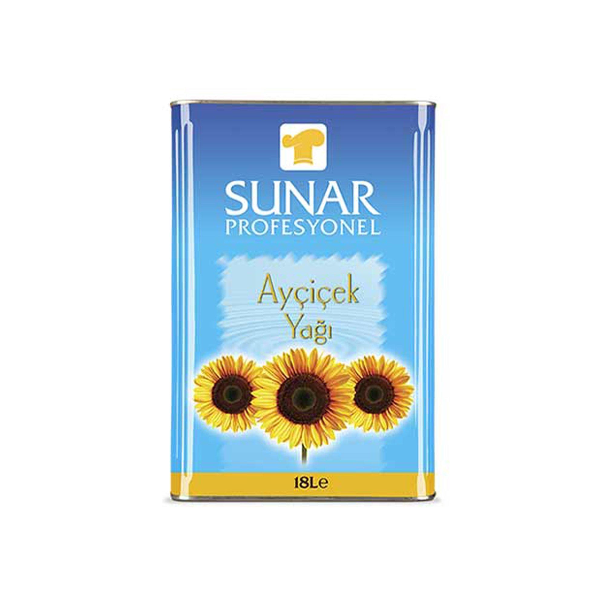 SUNAR AYCICEK YAGI *CATERING 18LT